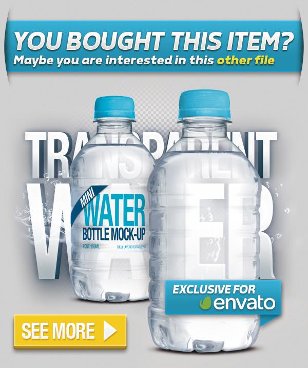 Fresh Water Bottle Mock-Up - 1